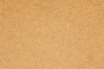 Terracotta stucco wall. Background texture.