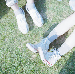 Close Up Of Feet