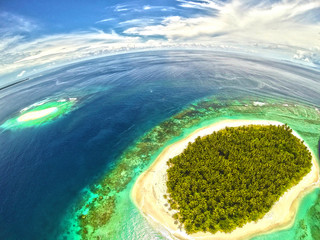 Indonesia, View of Mentawai Islands