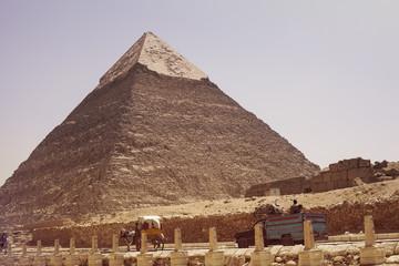 Egypt, Giza, Picture of Khafra's Pyramid
