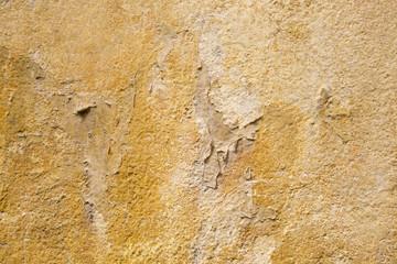 Muro scrostato colorato