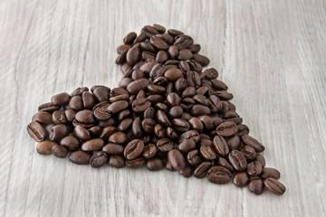 Kaffeebohnen - Herz