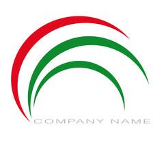 Logo rosso e verde