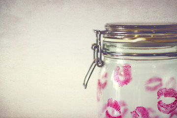 Jar full of kisses