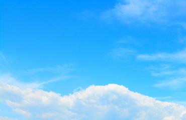 soft clouds in the sky