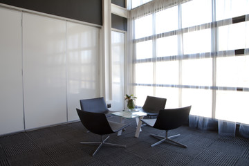 Meeting area in office