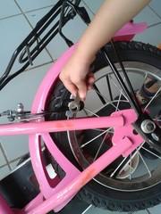 Reparando la bici!!