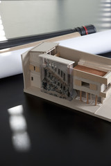 Building plans and building model