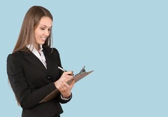 Clipboard, Questionnaire, Women.
