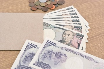 Japanese banknotes and coins