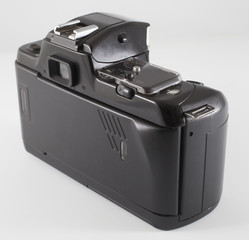 Back of a film camera