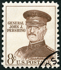 "USA - 1961: shows portrait of John Joseph Pershing ""Black Jack"""