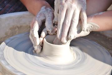 apprendimento arte del vasaio