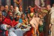 Постер, плакат: giorgio vasari dinner of st gregory
