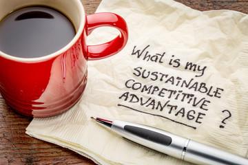 sustainable competitive advantage concept