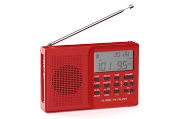 red digital receiver