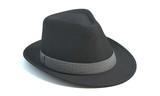 Fototapety 3d illustration of a fedora hat