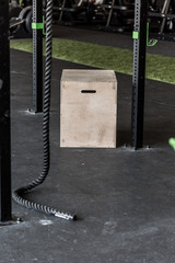 Box on crossfit zone