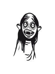 Vampire halloween cool creepy horror