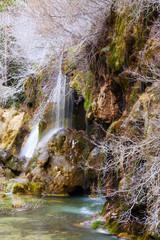 Natural   waterfall at river