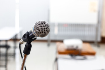 microphone in meeting  or conference room