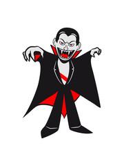 Vampire halloween creepy Bloodsucker