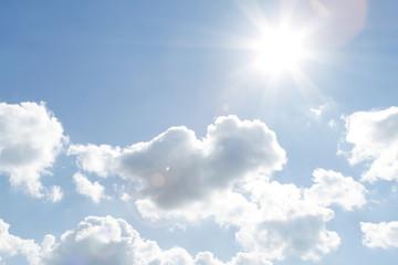 Sunlight in sky