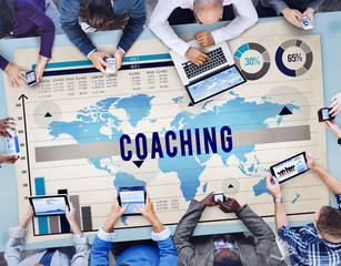 Coaching Mentoring Role Model Learning Concept