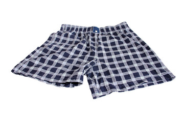 Men's briefs (boxers) from checkered fabric