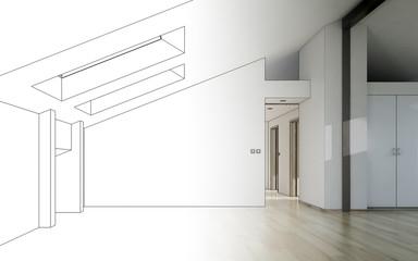 Dachgeschoss (Entwurf)