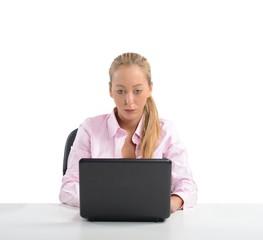 Businesswoman work