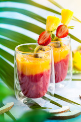 Exotic fruit smoothie