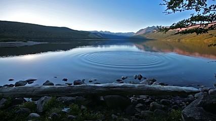 Mountains lake in Patagonia,Argentina