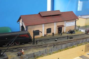 diorama stazione 1° dopoguerra