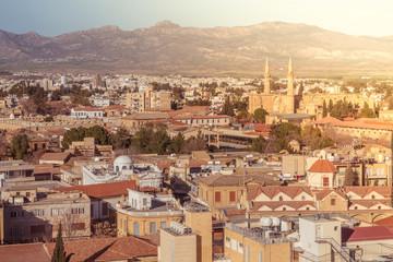 Northern part of Nicosia. Cyprus