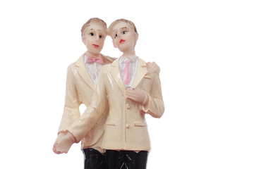 figurines mariage homosexuel hommes