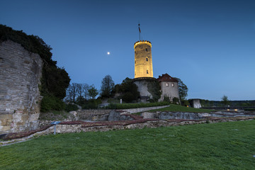Bielefeld - Sparrenburg at night