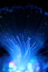 fiber optic light background.