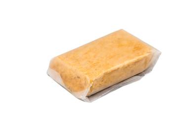 Kacang tumbuk or mashed peanut nuggets, a popular snack