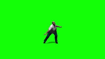 Fat Man Dancing