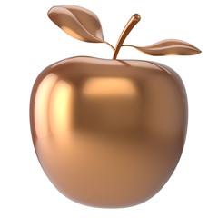 Apple golden fruit nutrition antioxidant fresh ripe icon