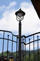 lampione luce giardino