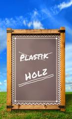 Strassenschild 34 - Holz