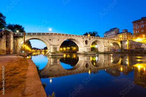 Poster Roma Ponte Sisto