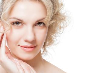 Portrait of a woman's face