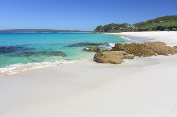 Chinamans Beach Jervis Bay a paradise