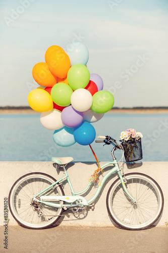 Poster Vélo d'été.