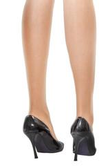 若い女性の足 ハイヒールFoot of the woman high-heeled shoes
