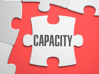 Capacity - Puzzle on the Place of Missing Pieces.
