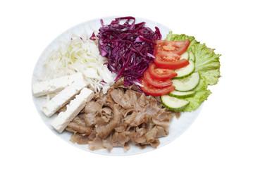 Salat meat